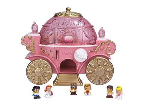 Squinkies Disney Princess Coach Dispenser