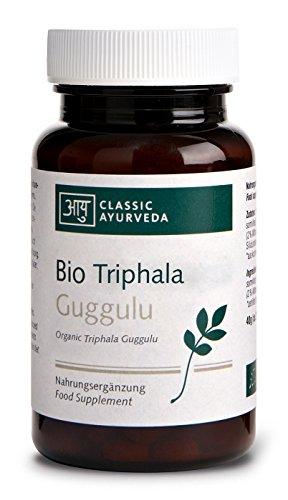 Classic Ayurveda Bio Triphala Guggulu (ca. 100 Tabletten), 40 g