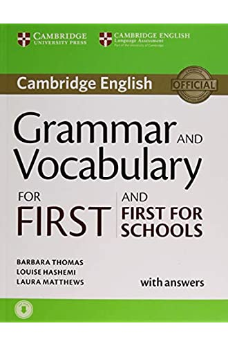 Grammar and Vocabulary for First and First for Schools. Book with Answers and Audio