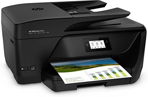 HP OfficeJet Pro 6950 - Impresora multifunción (Tinta Color, fax, copiar, escanear, impresión a Doble Cara, 4800 x 1200 PPP, Incluido 3 Meses de HP Instant Ink) Color Negro