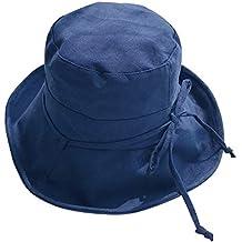 Cappello Casual da Sole in Cotone E Visiera Cappello Pescatore da Sole  Protezione Solare Pieghevole a302177a95c7
