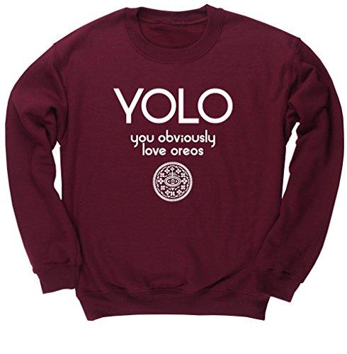 hippowarehouse-yolo-obviously-love-you-oreos-pull-mixte-beige-xxl