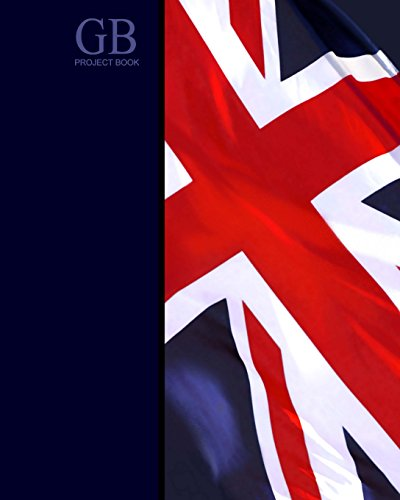 GB Project Book: Union Jack ( Journal / Large Notebook ) (World Cultures)