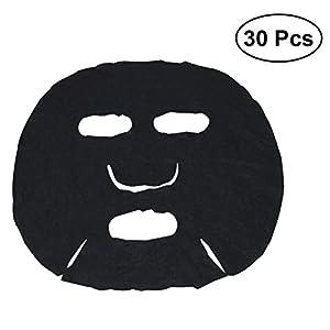 Lurrose 30 stücke vlies kompression diy maske papier maske kosmetik haut
