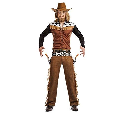 Imagen de disfraz vaquero texas talla m/l tamaño adulto