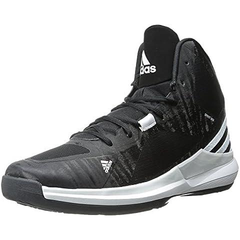 Nuevos zapatos de Adidas loco Golpe de baloncesto Negro / blanco 7