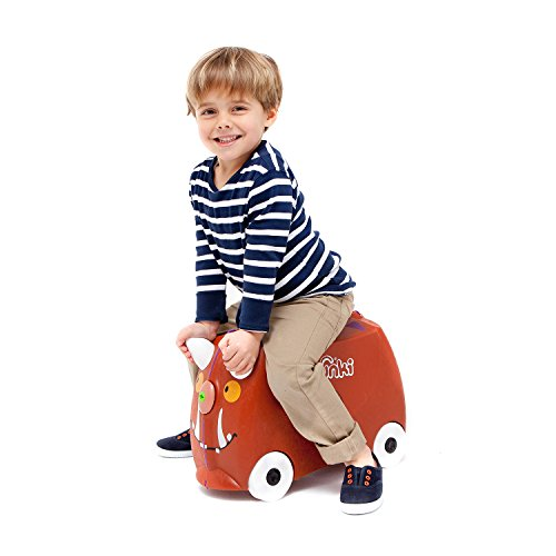 Image of Trunki Ride-on Suitcase - Limited Edition Gruffalo (Brown)