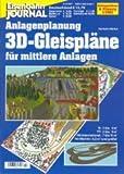 3D-Gleispläne für mittlere Anlagen, Band 2: N: 2 bis 4 qm, TT: 3 bis 5 qm, HO-International: 7 bis 11 qm, HO-Märklin: 6,5 qm und größer. Anlagenbau & Modellbahn-Bibliothek des Eisenbahn Journals