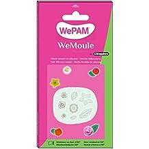 WePAM - PF09MA39 - WeMoule - Molde de silicona para moldear varios rosas y flores