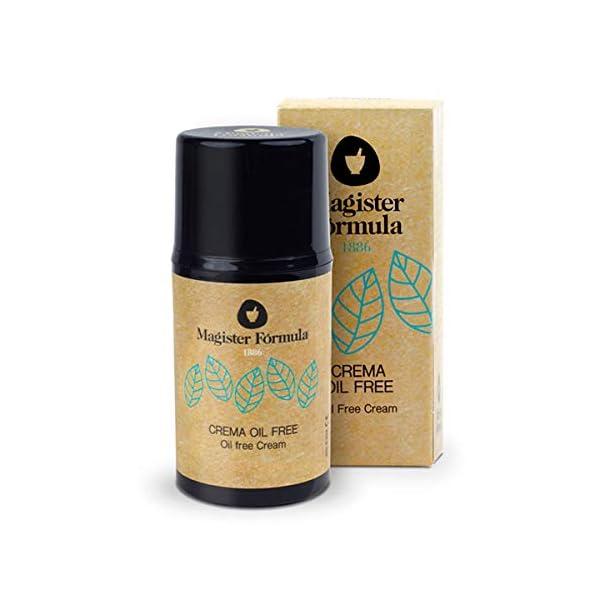 Crema Hidratante Facial Oil Free 50 ml | Especial para Piel Grasa y Sensible | Aporta Efecto Mate | Apta para Pieles…