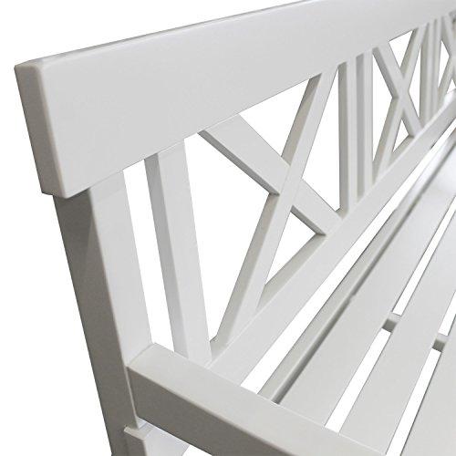 4-teilige Gartengarnitur Gartentisch 150x90cm + 3-Sitzer Gartenbank Sitzbank + 2x Gartensessel aus FSC zertifiziertem Eukalyptusholz Sitzgruppe Sitzgarnitur - 5