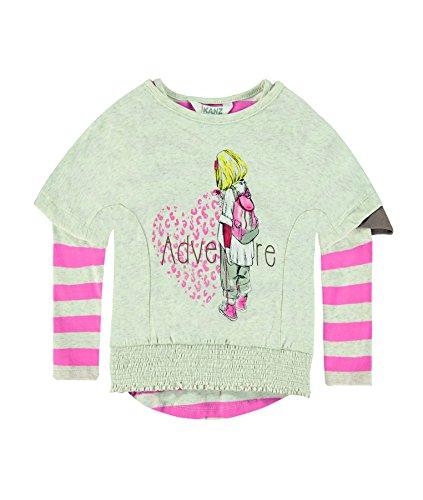 Kanz Mini Girls winter sunrise Two in one Langarmshirt 1643013 (104)