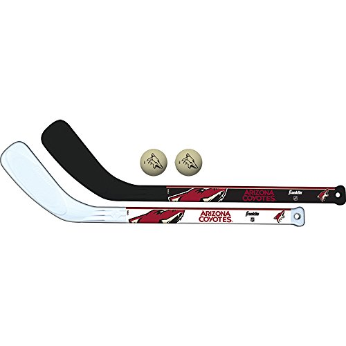 Franklin Sports NHL Team Mini-Hockeyschläger-Set, 2-teilig, Unisex-Erwachsene, Einheitsgröße
