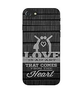 PrintVisa Designer Back Case Cover for Apple iPhone 7 (Love Defining Quote)