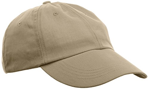 anvil Herren Low Profile Twill Cap 6 Panel / 176, Gr. one size, Grün (KHA-Khaki) Low-profile Twill Hut