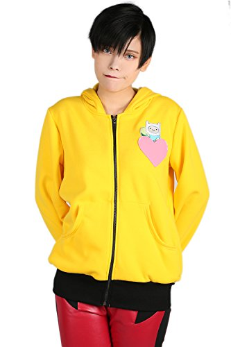 Damen Gelb Hoodie Pullover Sweatshirt Jumper Jacke Top Cosplay Kostüm Erwachsene Kleidung Kleid Frühling Merchandise