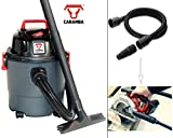 CARAMBA Nass Trocken Sauger VTOOL 5.0 - Handlicher Universal Staubsauger mit Absaugschlauch für Elektrowerkzeuge