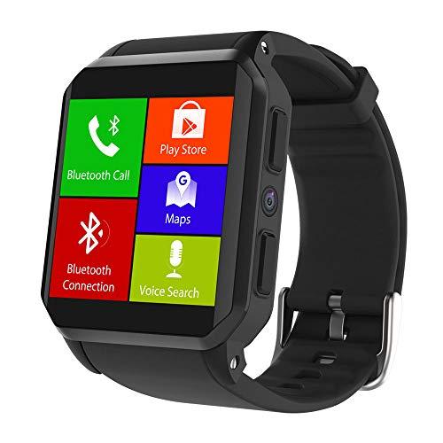 Kingwear KW06 Smartwatch, 512 MB + 8 GB, 3G WiFi, GPS, Herzfrequenz, IP68, Android 5.1, Bluetooth, Telefonieren