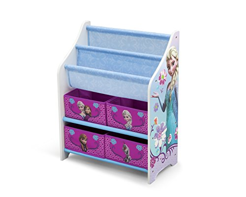 Frozen Buch- und Ablageregal (Blau/Lila)
