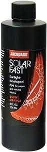 Jacquard SolarFast Dyes 8oz-Burnt Orange