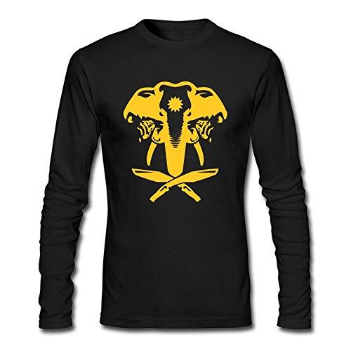 Preisvergleich Produktbild UKCBD Herren T-Shirt Gr. xl, Schwarz - Schwarz