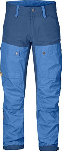 FjallRaven Pantalon de voyage Keb Trousers Regular uncle blue/un blue
