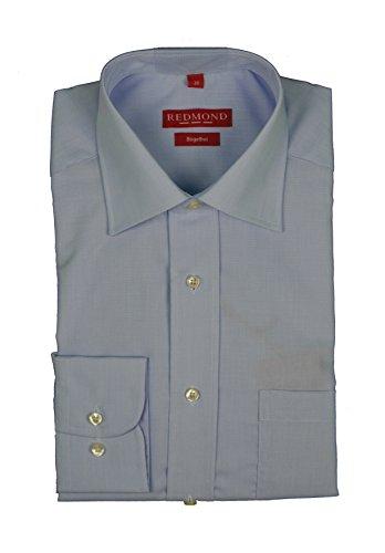 Bügelfreies chemise à manches longues pour homme-différents fil à fil farbmustern, finition :  regular fit marque rEDMOND 200 (100) Bleu - Blau(10)