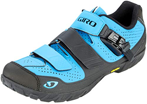Giro Terraduro MTB Fahrrad Schuhe blau/schwarz 2019: Größe: 42.5