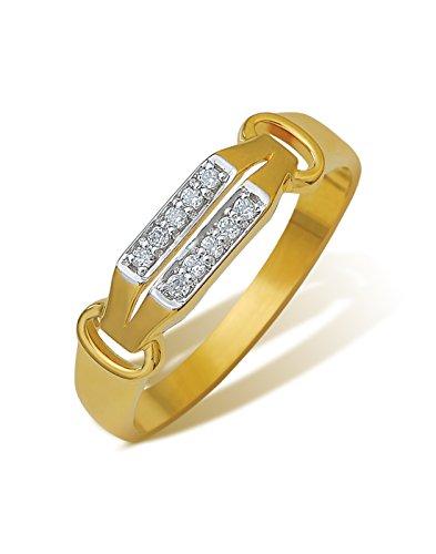 Ishtaa Contemporary 18K Yellow Gold Ring