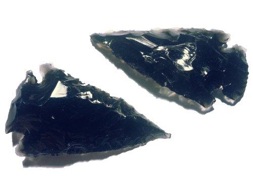 2 Pfeilspitzen Obsidian