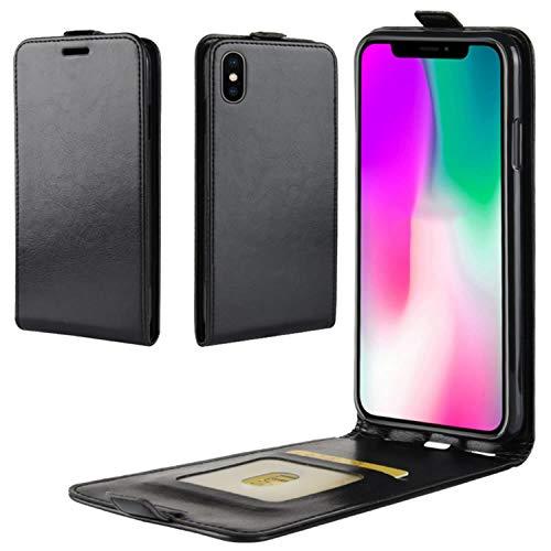 5f603a09105 HualuBro Funda iPhone XS MAX, Premium PU Cuero Leather Piel Carcasa Flip  Case Cover para