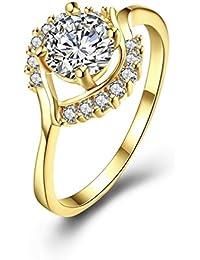 verlobung frauen charmant versilbert feuerwerk ringe schmuck hochzeit größe
