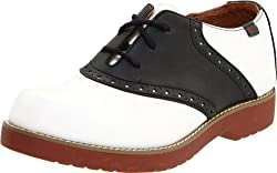 School Issue Varsity 6300 Uniform Shoe (Toddler/Little Kid/Big Kid),White/Black,12 W US Little Kid