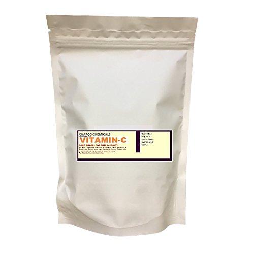 100% Food Grade Vitamin C Powder (Ascorbic Acid), (FSSAI & ISO Certified), 100 GM For Skin Care & Health