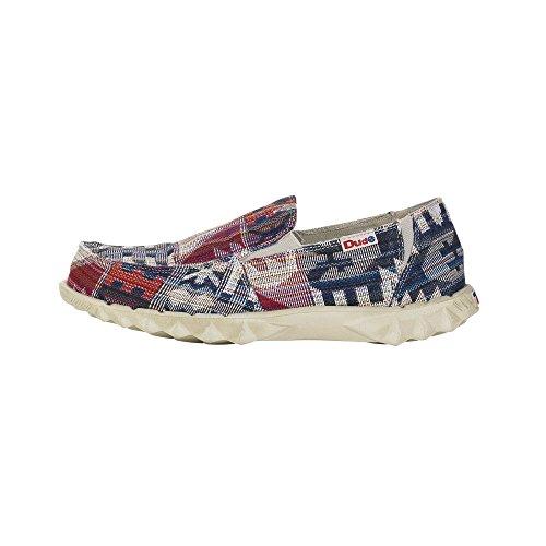 Dude Shoes Men's Farty 2 Incas Red Slip On / Mule