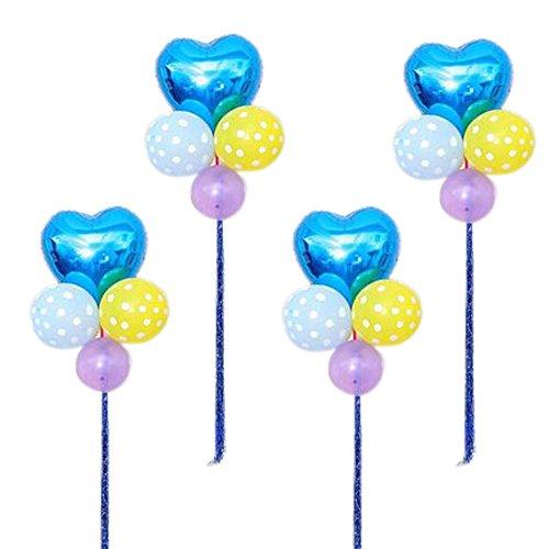 zförmige Stern Set 4 Hochzeitsfeier Ballons Arrangieren in Gruppen (Partei-versorgung-großhandel)