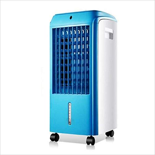 NYTYU Air Cooler 65W mobiler Lüfter Lüfter Haushaltswasser Lüfter (Farbe: Lila),Blau - Lila Turm-ventilator