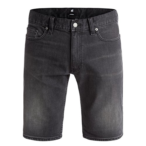 Short Denim Washed Straight Medium Gray - DC Shoes