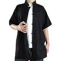 Camicia Kung Fu Tai Chi Arti Marziali Cinese in Lino Fine XS-XL o Su Misura #111