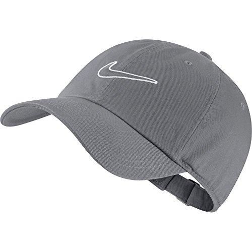 Nike U NK H86Essential SWSH Tennis Cap, Unisex, Erwachsene Einheitsgröße Grau (Cool Grey)