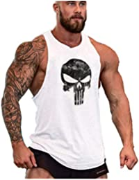 Cabeen Camisetas de Tirantes Entrenamiento Fitness Gimnasio Chaleco Músculo  Fit para Hombre 0252996afcf