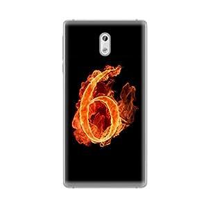 Digi Fashion Premium Soft Case with direct printing for Nokia 3