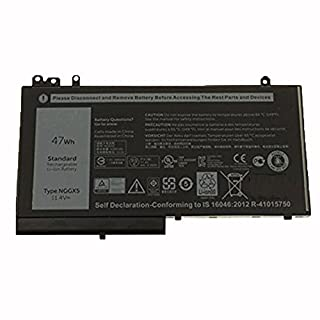 amsahr 11.4 V 47 W Replacement Battery for Dell NGGX5/0RDRH9/RDRH9