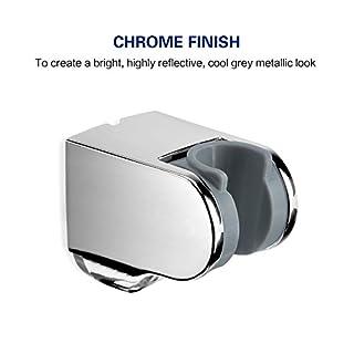 Adjustable Shower Head Holder Bracket Wall Mounted ABS,Chrome Finish