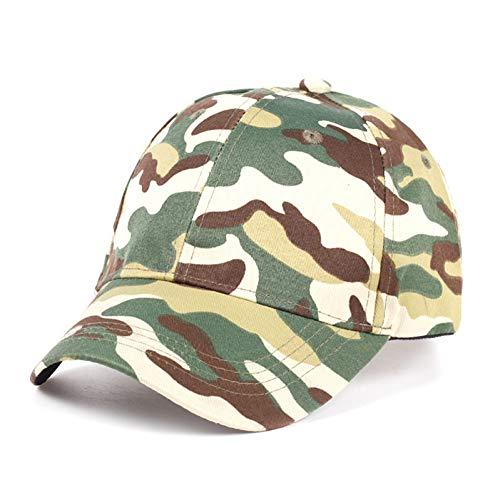 7 1/4 Ausgestattet Cap Hut (ERHHOO Erwachsener nähenderMannhut der Tarnungsmann-Baseballmütze justierbarer männlicher weiblicher Hip-Hop-Hut der Sonnenhutmode im Freien)