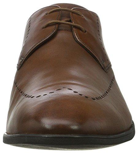 Clarks Bampton Limit, Brogues Homme Marron (Tan Leather)
