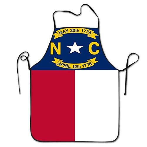 LarissaHi Yongchuang Feng Flagge von North Carolina Unisexküche BBQ-Koch-Kochs-Schutzblech, das professionelle Erwachsen-Schellfisch-Geschenk-Grill-Schutzbleche kocht - North Carolina Tattoos