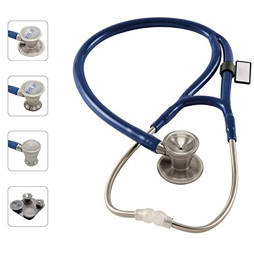 MDF MDF797CC-10 ProCardial C3, Kardiologie Zweikopf-Stethoskop aus rostfreiem Stahl, blau