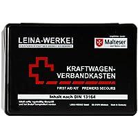 Leina Werke REF 10007 Leina KFZ-Verbandkasten Standard, Inhalt DIN 13164, schwarz preisvergleich bei billige-tabletten.eu