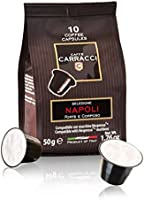 Caffè Carracci Capsule Compatibili Nespresso Intensità 10 - 100 Capsule